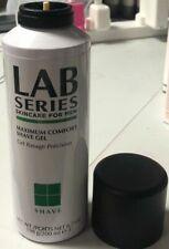 Lab Series For Men Maximum Comfort Shave Gel 6.7oz,200ml Top Missing