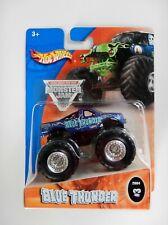 Blue Thunder Monster Jam Truck (Hot Wheels)(#3)(2004)