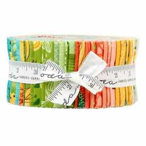 """SOLANA Jelly Roll Quilt Fabric for Moda (40) 2.5"""" Strips by Robin Pickens"""