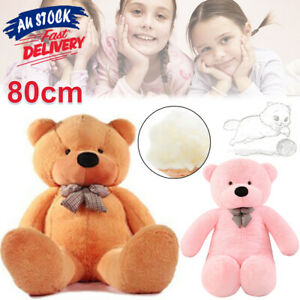 80cm Plush Big Giant Bear Toys stuffed Soft Teddy Large Kids Bears ACB#