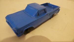 Tomte-Lerdal Plastikmodellauto ( Gummi Auto ) aus den 50/60 Jahre