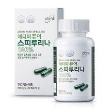 120 Capsules X 400mg Korean Atomy Pure Spirulina 100 Health Supplement VA