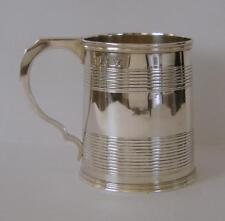 A George III Sterling Silver Tankard London 1825 Rebecca Emes & Edward Barnard