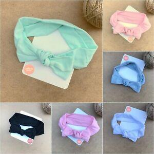 LollipopHouse Girls Top Knot Head-Wrap Headwrap Cotton Headband AU