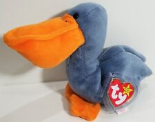 "TY Beanie Babies ""SCOOP"" the PELICAN Bird - MWMTs! RETIRED! CHECK OUT MY BEANIES"