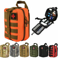 Durable Tactical First Aid Kit Survival Molle Rip-Away EMT Bag Medical Pouch