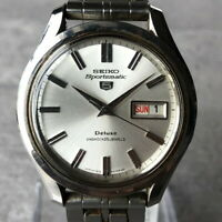 Vintage 1967 Seiko 5 Sportsmatic Deluxe 25Jewels 7619-9010 Automatic Watch #288