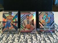 2018-2019 Panini Prizm Silver SHAI GILGEOUS-ALEXANDER 3 Card Rookie Lot!!!