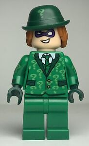 Lego Batman Movie THE RIDDLER (SUIT + TIE) Minifigure sh334 FAST SHIPPING!