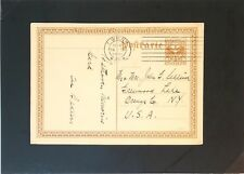 Austria 1932 Beethoven Postal Card to USA / Minor Creases - Z2940