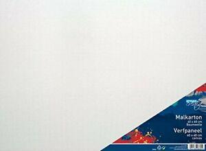 Malkarton Malpappe Baumwollgewebe grundiert 40 x 60 cm 100% Baumwolle 3mm Stärke