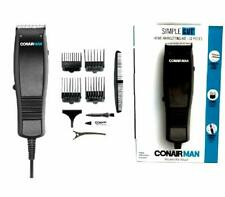 Conair Simple Cut HC93W 10 Piece Hair Clipper Taper Cutting Home Kit Trimmer
