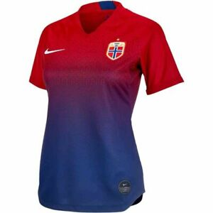 Nike Norge Norway National Soccer Team Womens Jersey Size XS