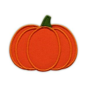 Fall PUMPKIN Embroidered PATCH/BADGE