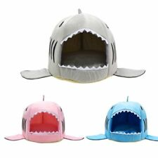 Dog House Shark For Large Dog Cat Cozy Home Soft Warm Bed Puppy Kitty Blanket