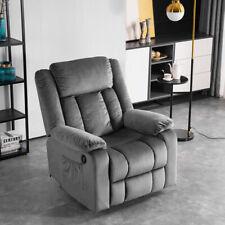 Elektrisch Relaxsessel Massagesessel Fernsehsessel Heizung Liegefunktion Sessel