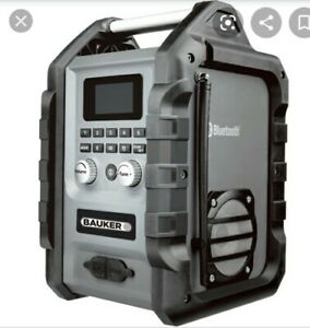 Bauker DAB Bluetooth Job Site Radio