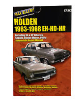 Holden EH HD HR Workshop Repair Manual 1963-68