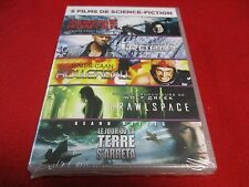 "COFFRET 5 DVD NEUF ""VAMPIRE HUNTER / I ROBOT / ROLLERBALL / CRAWLSPACE / LE JOUR"