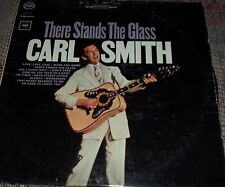 Vintage LP Record There Stands The Glass, by Carl Smith, 1964