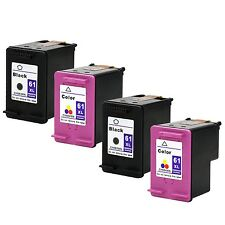 4PKs HP 61XL Black & Color Ink Cartridge For Deskjet 1000 1010
