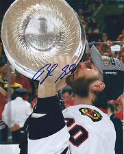 Brandon SAAD Signed Chicago Blackhawks CUP 8x10 Photo