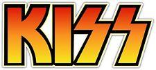 KISS Sticker Decal *3 SIZES*  Rock Roll Vinyl Bumper Wall Logo Band