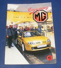 ENJOYING MG MAY 2002 VOLUME 23 NUMBER 5 - COMPETITION MIDGETS/MGB CLUTCH