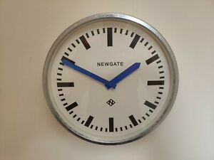 "Newgate ""The Luggage"" Wall Clock Blue 30cm"
