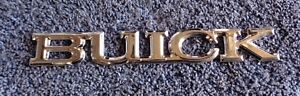 NOS NEW OEM GM Buick Models Chrome Tail Light  Body Emblem Ornament Nameplate
