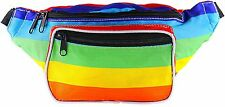 Fanny Pack - Classic Solid Bright Colors (Rainbow) by SoJourner Bags