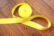 6 meter 47mm wide SEAT BELT STRAP WEBBING Yellow   Color Break Strength 2500KG