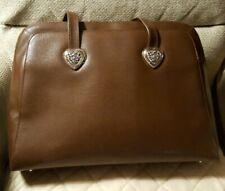 Brown Coldwater Creek Laptop/Filing/Tote Bag/Handbag faux snakeskin. Used once.