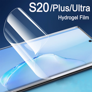 Screen Protector COVER For SAMSUNG S21 20 Plus Ultra S10 Lite Note Hydrogel Film