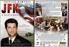 JFK : Le Destint en Marche - FILM avec Patrick DEMPSEY - 2005 - 183 mn - NEUF