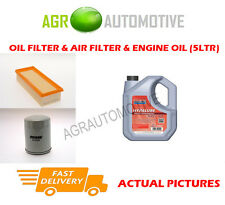 PETROL OIL AIR FILTER KIT + FS 5W40 OIL FOR ROVER 214 1.4 75 BHP 1996-99