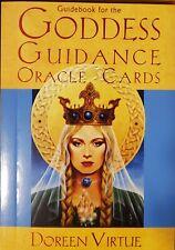 Doreen Virtue Goddess Guidance Oracle Cards 44 Card Deck w/ Guidebook Vg+