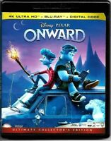 Onward Disney Pixar [4K UHD Ultra HD Blu-ray / Bluray]