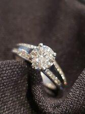 Engagement Ring Stunning .80 Carot