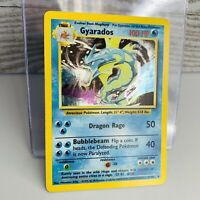 Gyarados Holo 6/102  Base Set 1999 Pokemon Card  #2 Very Good++/Near Mint