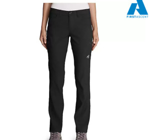 NWT Eddie Bauer Women's First Ascent Guide Pro Lined Pants Black Retail $99