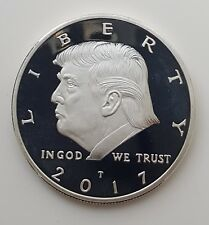 Donald Trump Silver Coin MAGA Mike Pence Melania Ivanka Baron Twitter Towers USA