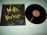 MONDO NEW YORK ORIGINAL US LP SOUNDTRACK PROMO NM VINYL