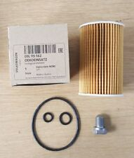 GENUINE VOLKSWAGEN AUDI OIL FILTER AND SUMP PLUG 03L115562 N90813202 *NEW*