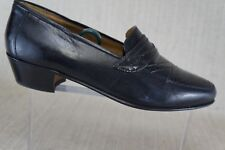 Womens Shoes loafer black Creazione Due Leone Varese Italy size  EU 40  us 8 M