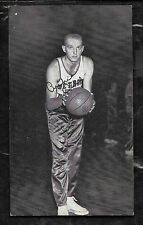 1959-60  J.D. McCARTHY BASKETBALL POSTCARD ARCHIE DEES - PISTONS