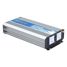 3000W 24V DC to 230V AC pure sine wave power inverter + wireless On/Off remote