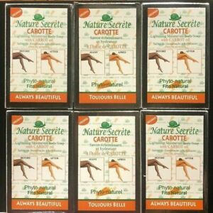 NATURE SECRET Lightening and Exfoliating Gommant Carrot Soap 350g {6 pack}