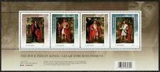 Canada #2383b 57¢ Four Indian Kings Souvenir Sheet MNH