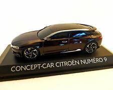 CITROEN NUMERO 9 CONCEPT CAR SALON PEKIN 2012 BROWN METAL NOREV AMC019133 1/43